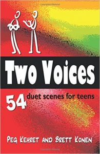 Two Voices - 54 duet scenes for teens